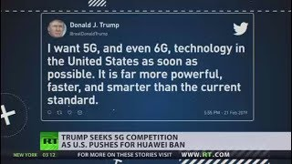 'We must be the leader in everything': Trump praises non-existent 6G technology - RUSSIATODAY