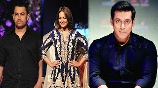 Aamir Khan and Sonakshi Sinha walk for a cause, Salman Khan directed a scene for his Movie
