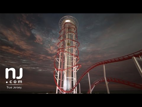 350-foot vertical roller coaster 'Polercoaster' planned for Atlantic City