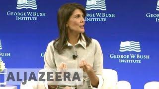 Nikki Haley criticises UN for overspending - ALJAZEERAENGLISH