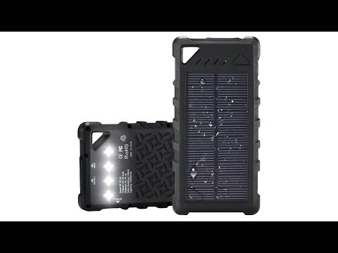 Survival Solar Power Bank - IPX7 Rugged