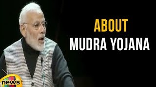 PM Modi Speaks About Mudra Yojana | Indian Diaspora Stockholm University | Mango News - MANGONEWS