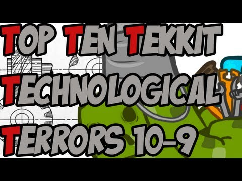Sjin's Top Ten Tekkit Technological Terrors - 10-9