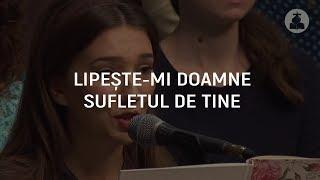 Lipeste-mi, Doamne, sufletul de Tine - Amalia Preda
