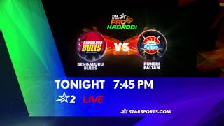 Bengaluru Bulls Vs Puneri Paltan - 27th July - ESPNSTAR