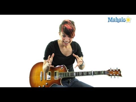 "How to Play ""Bad Romance"" by Lady Gaga on Guitar"