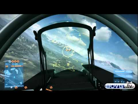 Battlefield 3 Jet & Helicopter Tutorial & Tips 4 Noobs Xbox 360 HD | BF3 How To Fly Jet Plane PS3/PC