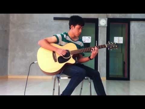 ไม่บอกเธอ Acoustic guitar cover / ( Rock Vittada )