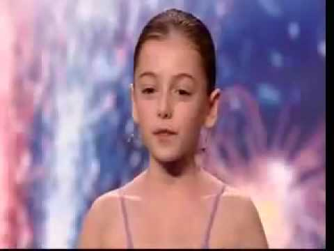Lil Susan Boyle On Britain s Got Talent 2009 Hollie Steel I Could Have Danced All Night