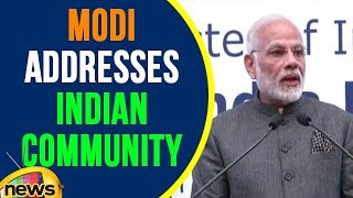 PM Modi Addresses Indian Community In Philippines | Mango News - MANGONEWS