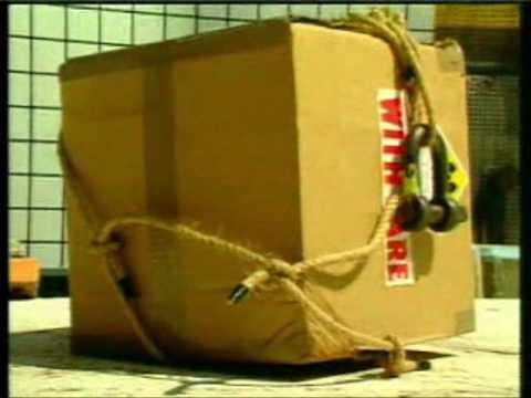 Testes de embalados TIPO A (material radioativo)