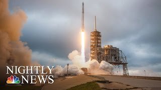 SpaceX Announces Plan To Send Two Private Citizens To The Moon In 2018 | NBC Nightly News - NBCNEWS