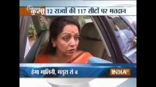 Hema Malini speaks exclusively with India TV - INDIATV