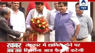 Delhi: Devendra Fadnavis meets Nitin Gadkari - ABPNEWSTV