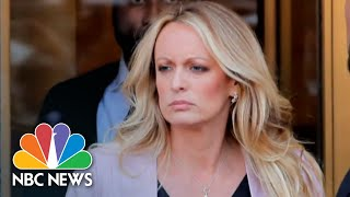 Stormy Daniels: President Donald Trump 'Is A Man Who Has Gotten In Over His Head'   NBC News - NBCNEWS