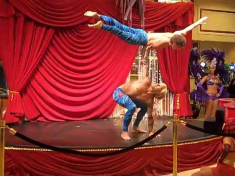 Male Acrobats at Showboat
