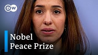 Nobel Peace Price winner Nadia Murad calls for action against IS | DW News - DEUTSCHEWELLEENGLISH