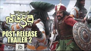 Gautamiputra Satakarni post release trailer 2 - idlebrain.com - IDLEBRAINLIVE