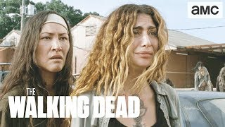 'Earning Michonne's Trust' Talked About Scene Ep. 907 | The Walking Dead - AMC