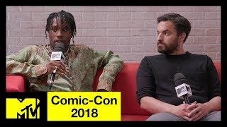'Spider-Man: Into the Spider-Verse' w/ Shameik Moore & Jake Johnson | Comic-Con 2018 | MTV - MTV
