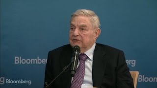 A Conversation With George Soros at Davos 2017 - BLOOMBERG