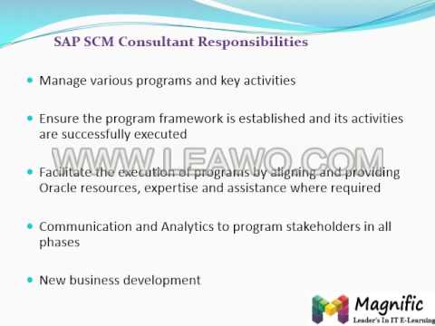 Online Knowledge Product SAP SCM 7 0  online training