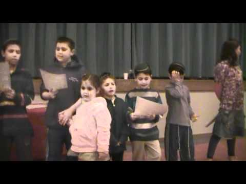 Fruticas Tu Bishvat Song at Ezra Bessaroth 2011