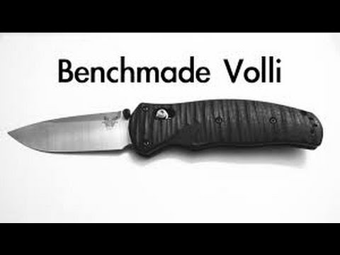 Benchmade volli 100001 Review: Great collector piece
