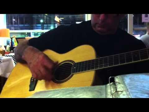 Δυο χρόνια με κολάκευες-Κώστας Σκαρβέλης, Παστουρμάς (Στιχουργός) 17.05.2012 Rebetika in Melbourne