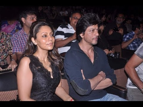 Shahrukh And Gauri At Shiamak's Dance Show