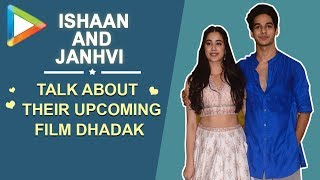 Dhadak is an honest film with a lot of heart!!! Ishaan & Janhvi get CANDID - HUNGAMA