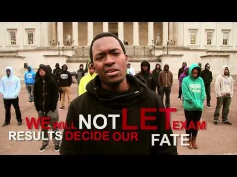 Protest młodych przeciwko testom