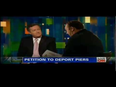 Alex Jones vs Piers Morgan on CNN (FULL ORIGINAL) No Commercial