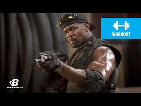 Terry Crews Expendables Training –