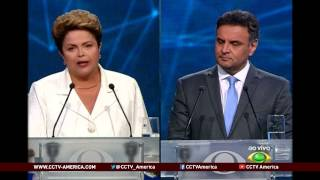 See the news report video by Monica deBolle discusses what will matter in Brazil's presidential run-off