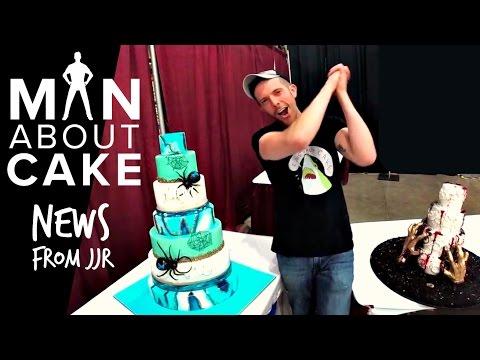 JJR's Big News | Man About Cake at Oklahoma Sugar Arts Show Oct 2016