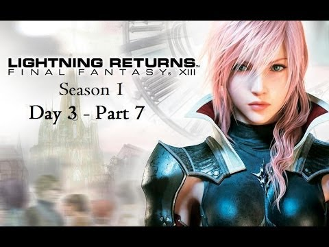Let's Play - Lightning Returns - Day 3 - Part 7 - To Save a Chocobo