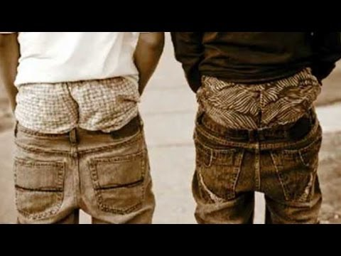 Dudes Who Wear Pants This Way, Sagging, You Know Where It Came From...Right?