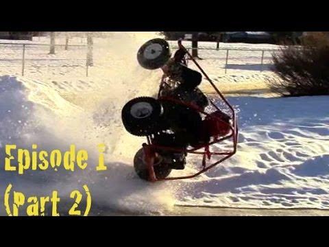 Homemade Go-Karts: Thrills & Spills Episode #1 (Part: 2)