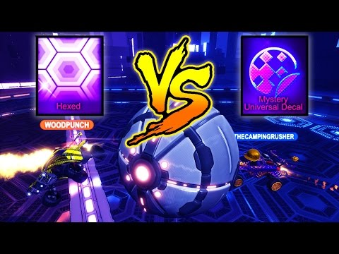 CAN I GET A FREE 20XX MYSTERY DECAL IN ROCKET LEAGUE!?