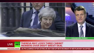 4* resignations and counting: May loses top cabinet members over Brexit deal - RUSSIATODAY