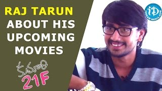 Raj Tarun On His Upcoming Movies - Kumari 21F    Talking Movies with iDream - IDREAMMOVIES