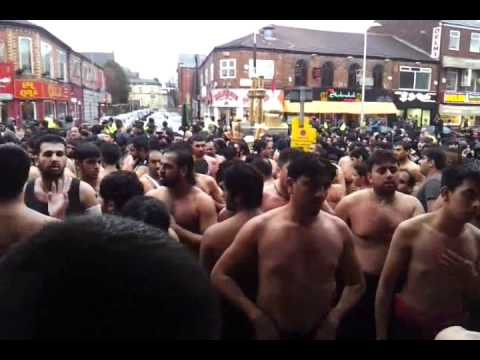 8th muharram jaloos manchester 2011 part 4