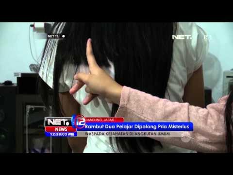 Waspada kejahatan potong rambut di dalam angkot - NET12