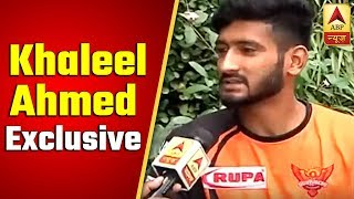 Dhoni, Kohli, Rohit - Khaleel Ahmed Wishes To Pick All Precious Wickets This IPL | ABP News - ABPNEWSTV