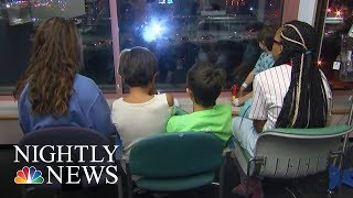 How The City Of Providence Comforts Sick Children   NBC Nightly News - NBCNEWS