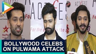 Bollywood Celebrities Talk about Pulwama Terror Attack at Cintaa Actfest Event |  Part 2 - HUNGAMA