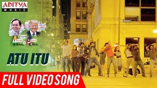 Atu Itu Full Video Song   A2A (Ameerpet 2 America) Songs   Rammohan Komanduri - ADITYAMUSIC