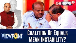 Is The Coalition Of Equals Basically Symbolic Of Political Instability? | Viewpoint With Bhupendra - IBNLIVE