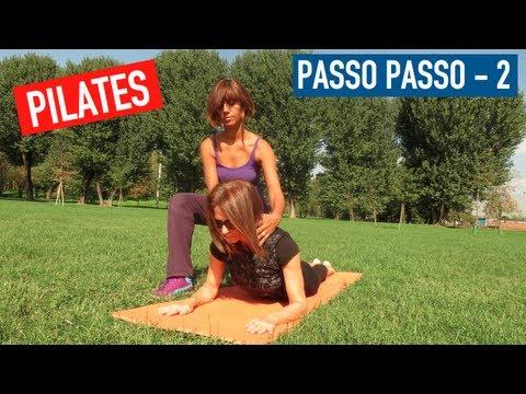 Lezione di Pilates - Esercizi Spiegati Passo Passo (Parte 2)